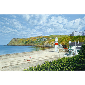 Port Erin Beach and Bradda Head Print