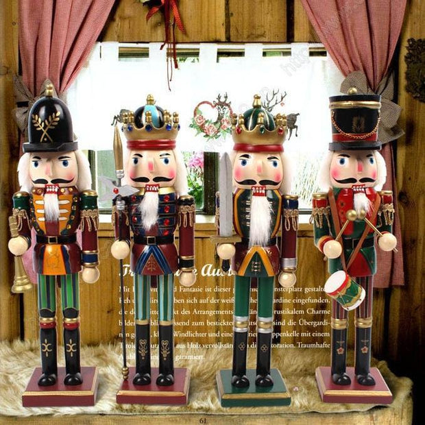 Animated Musical Nutcracker with drum