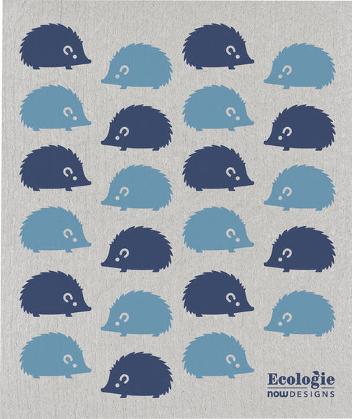 Swedish dishcloth - Happy hedgehog - Cheerfetti Gift Co.