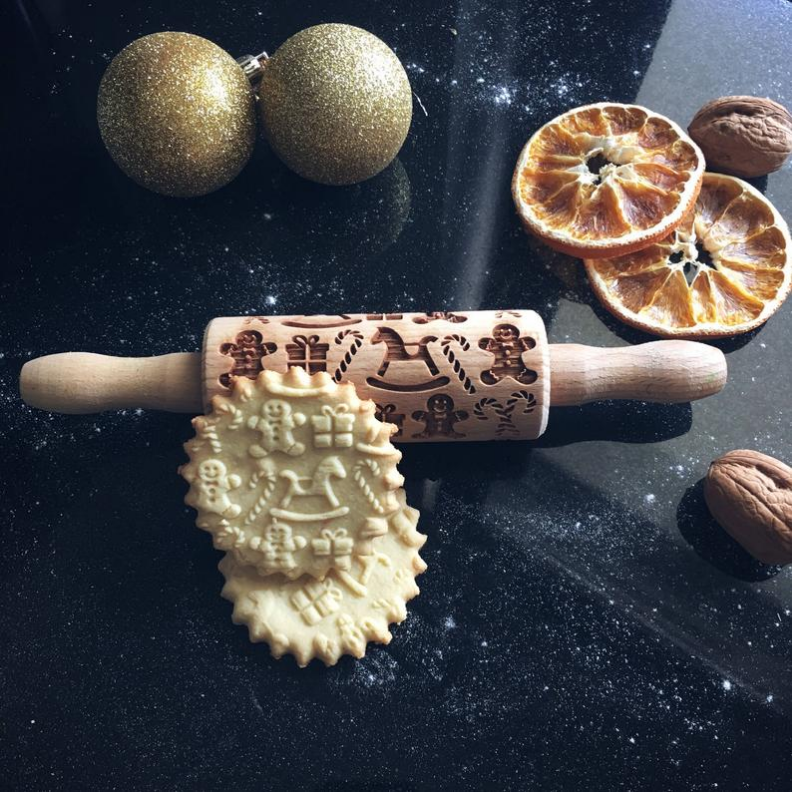 Christmas gifts rolling pin