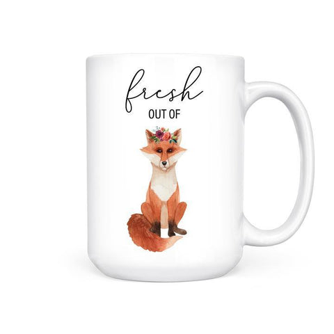 Pretty by her fresh out of fox mug