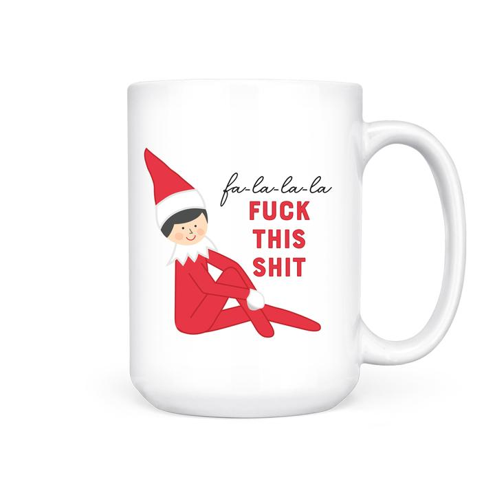 Pretty by her elf mug