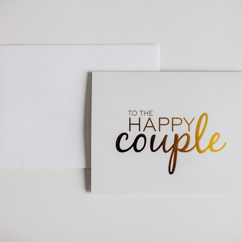 Card - Happy couple - Cheerfetti Gift Co.