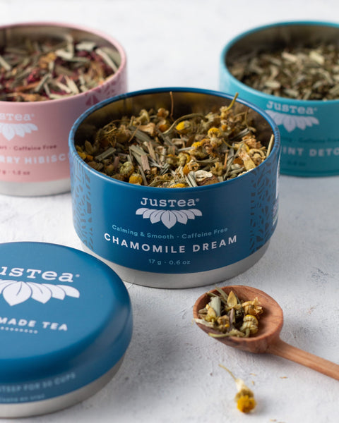 Justea Tea Trio: Herbal tea
