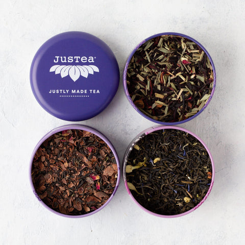 Justea tea trio: Purple tea