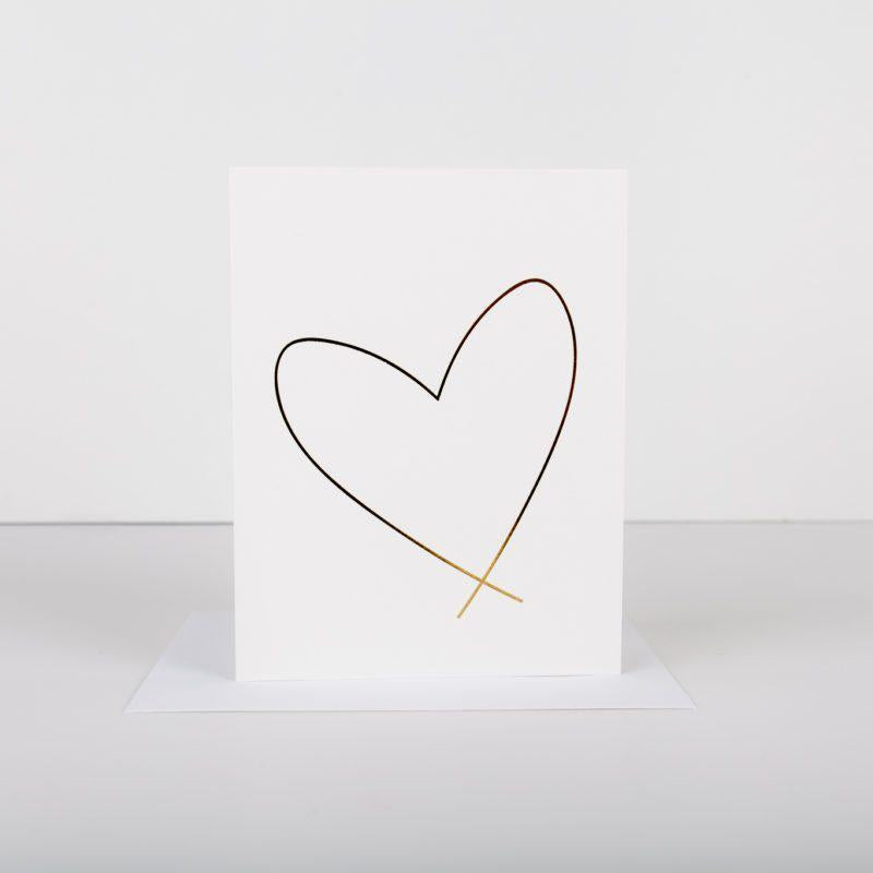 Card - Big heart - Cheerfetti Gift Co.