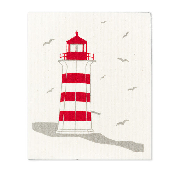 Swedish dishcloths set of 2 - Lighthouses