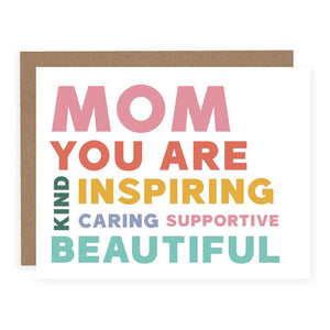 Card - Mom You Are