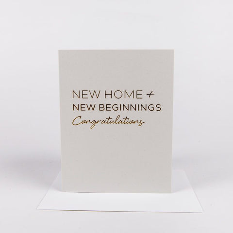 Card - New home - Cheerfetti Gift Co.