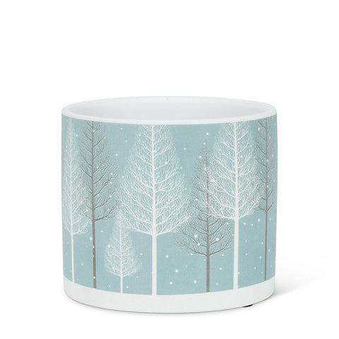 Snowy Forest planter
