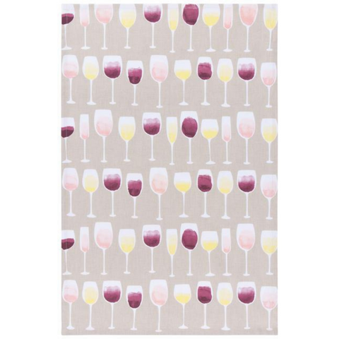 Tea towel - Wine Tasting