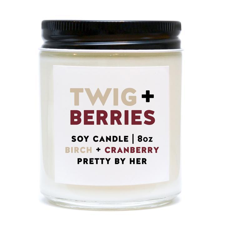 Soy candle - Twig and berries
