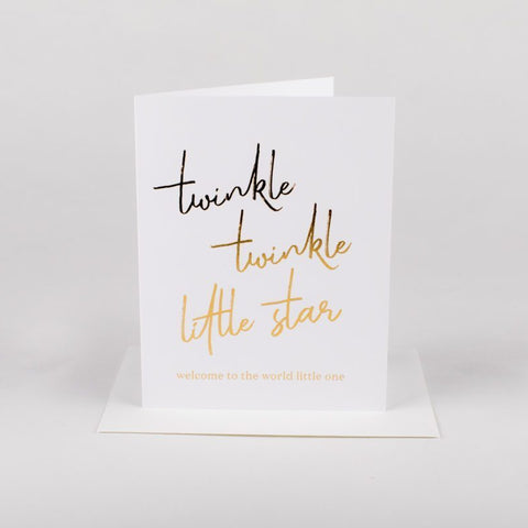 Card - Twinkle twinkle - Cheerfetti Gift Co.