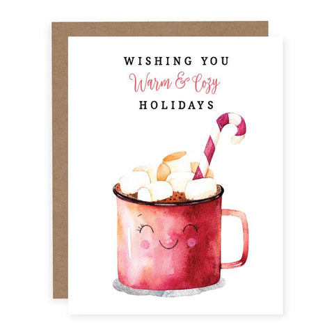 Holiday card - Warm & cozy holidays