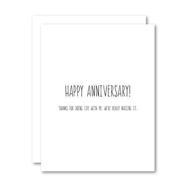 Card - Anniversary - Cheerfetti Gift Co.