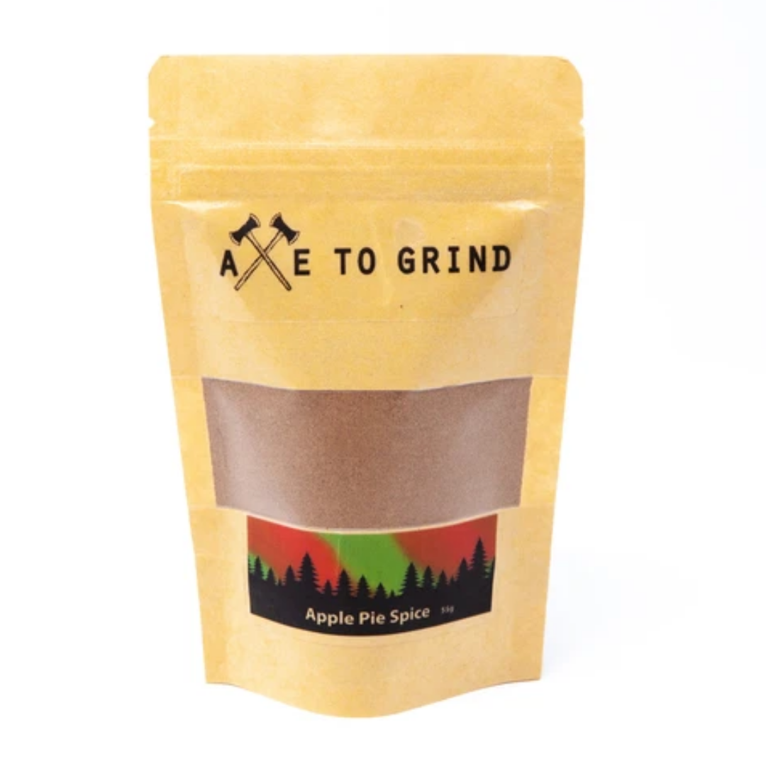Apple pie spice axe to grind