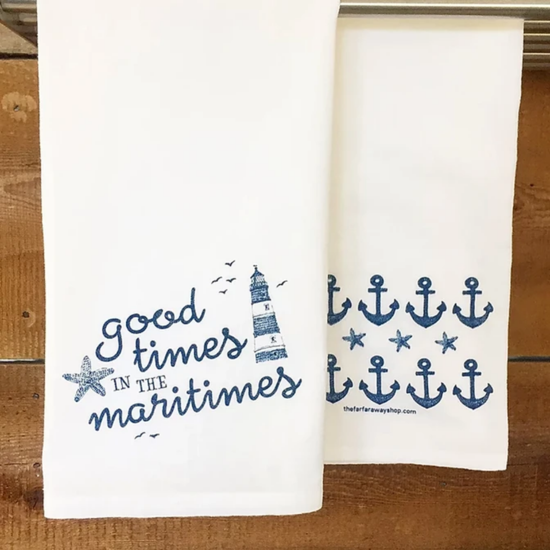 Tea towel - Good times in the Maritimes