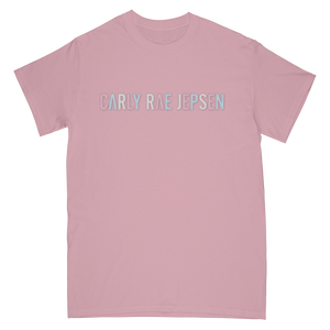 Embroidered Logo T-shirt - Pink