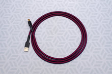 Load image into Gallery viewer, Red and Purple USB 2.0 Cable