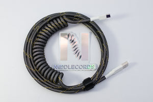 Coiled Custom Mechanical Keyboard USB-2.0 Cable