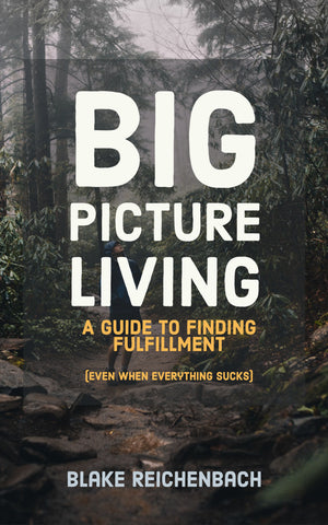 Big Picture Living: A Guide to Finding Fulfillment (Even When Everything Sucks)