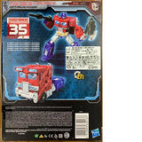 Hasbro Transformers SIEGE 35th Voyager Classic Animation Optimus Prime in stock
