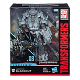 HASBRO Transformers STUDIO SERIES DLEADER CLASS SS#08 [BLACKOUT] Action Figure