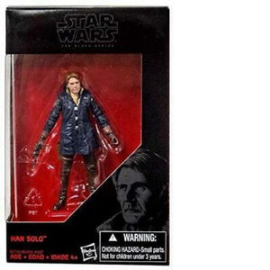 "Star Wars 3.75"" Han Solo B7759 The Black Series Collectable Figure"