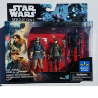 "Star Wars Rogue One Action Figure Set 3 pack 3.75"" K-2S0 Jyn Cassian"