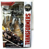 HASBRO TRANSFORMERS MOVIE 5 THE LAST KNIGHT COGMAN Premier Edition