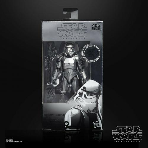 Star Wars Black Series Carbonized Stormtrooper 40Th Anniversary