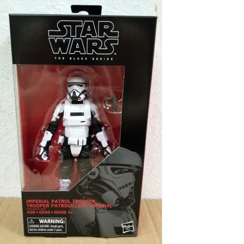 "HASBRO STAR WARS BLACK SERIES 6"" inch #72 IMPERIAL PATROL TROOPER"