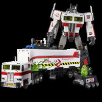 HASBRO SDCC EXCLUSIVE TRANSFORMERS MP-10G GHOSTBUSTERS ECTO 35 OPTIMUS PRIME FIG