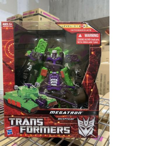 34338 TRANSFORMERS GENERATIONS ASIA Exclusive MEGATRON HASBRO