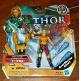 "Thor- The Mighty Avenger: DELUXE BLASTING ARMOR THOR 4"" Action Figure!"