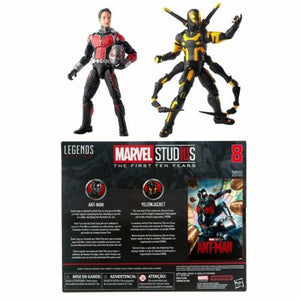 Hasbro Marvel Legends 10th The First Ten Years Ant Man & YellowJacket ANV 8
