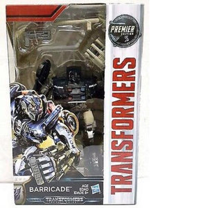 HASBRO TRANSFORMERS MOVIE 5 THE LAST KNIGHT BARRICADE Premier Edition
