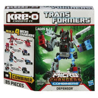 NEW KRE-O Transformers Micro-Changers Combiners Defensor Construction Set A4474