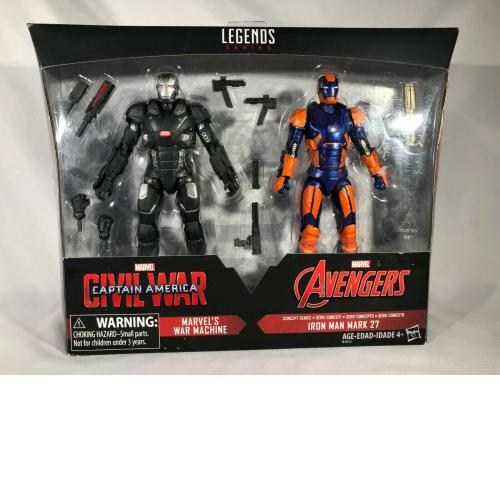 2016 Hasbro Marvel Legends Target Exclusive War Machine & Mark 27 2-Pack OPENED