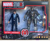 HASBRO MARVEL LEGENDS 10TH ANV1 [TONY STARK & IRON MAN MARK I] Action Figure