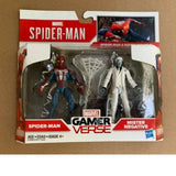 Marvel GamerVerse 2 pack SPIDER-MAN & MISTER NEGATIVE new in box (5R0-1)