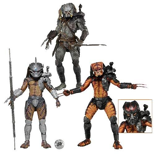 NECA Predator Series 12 Action Figure Set