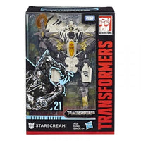 HASBRO Transformers STUDIO SERIES VOYAGER CLASS SS#21 [STARSCREAM] Action Figure