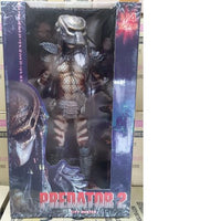 "NECA Predator City Hunter Masked 1/4 Scale 18"" Action Figure Toy"