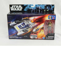 "Star Wars Rebels 3.75"" Vehicle Y-Wing Scout Bomber Playset"