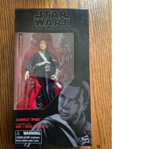 "Chirrut Imwe; Star Wars #36 Black Series 6"" Figure Hasbro"
