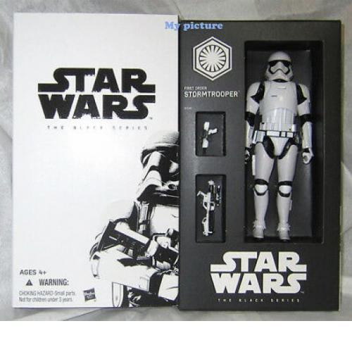Hasbro STAR WARS THE BLACK SERIES FIRST ORDER STORMTROOPER 6""