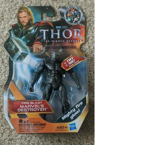 Marvel - Thor The Mighty Avenger - Fire Blast Destroyer - 3.75 Inch Figure