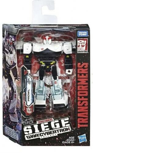 TRANSFORMERS WFC WAR FOR CYBERTRON SIEGE DELUXE PROWL ACTION FIGURE