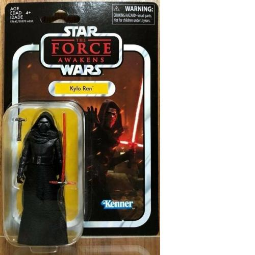 "Hasbro Star Wars The Force Awakens Kenner 3.75"" Kylo Ren VC 117"